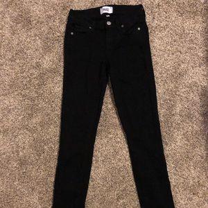 Size 25 Black Paige skinny jeans